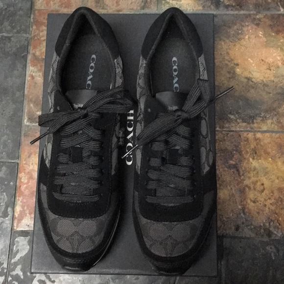 fbf4fb486550 COACH Mason Signature Jacquard Sneakers